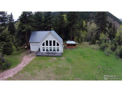 Bellvue Single Family Home For Sale: 29737 Poudre Canyon Rd