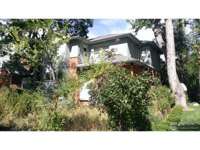 Boulder CO Single Family Home Active-Backup: $1,495,000
