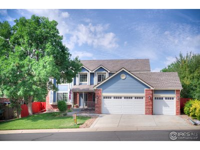 Broomfield Single Family Home For Sale: 1136 Larch Ct
