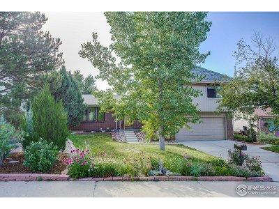 Boulder Single Family Home For Sale: 4718 Jameston St