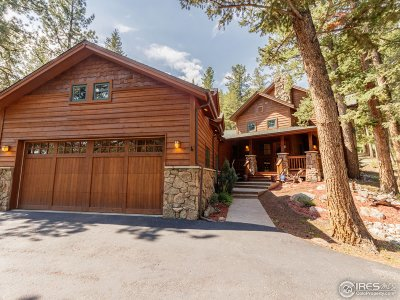 Estes Park Single Family Home For Sale: 1840 Sleepy Hollow Ct