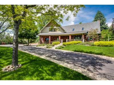 Boulder CO Single Family Home For Sale: $2,200,000