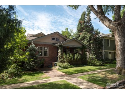 Boulder CO Single Family Home For Sale: $2,950,000