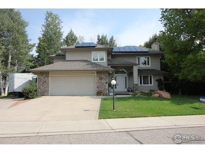 Niwot Single Family Home For Sale: 7917 Wellshire Ct