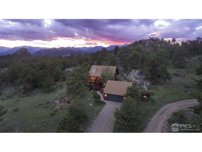 Estes Park CO Single Family Home For Sale: $2,590,000