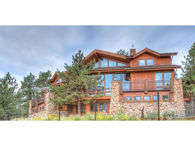 Estes Park Single Family Home For Sale: 1086 Pine Knoll Dr