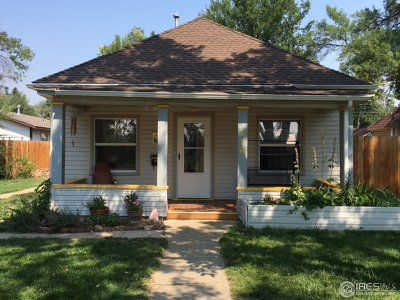 Longmont Single Family Home For Sale: 756 8th Ave