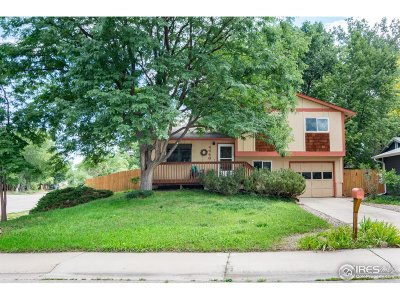 Boulder Single Family Home For Sale: 4446 Clipper Ct