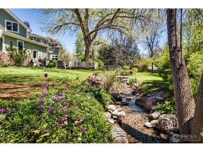 Boulder Single Family Home For Sale: 2176 Riverside Ln