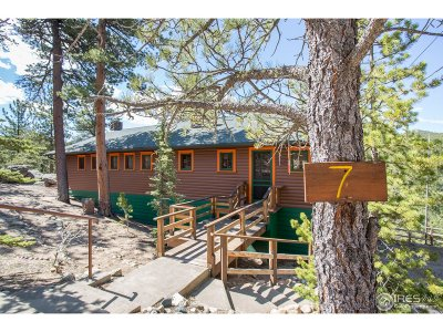 Boulder County Single Family Home For Sale: 3285 Coal Creek Canyon Dr #7