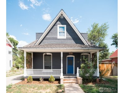 Boulder Single Family Home For Sale: 2153 Grove Cir
