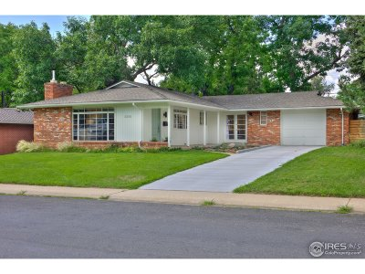 Boulder Single Family Home For Sale: 2230 Grape Ave