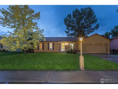 Longmont Single Family Home For Sale: 2207 Bowen St