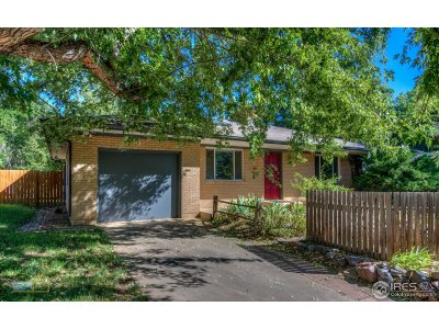 Boulder CO Single Family Home For Sale: $989,000