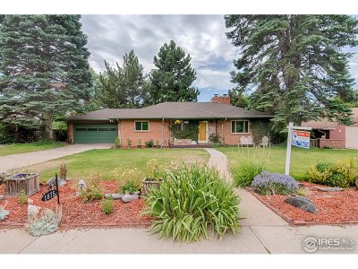 Longmont Single Family Home For Sale: 1875 3rd Ave