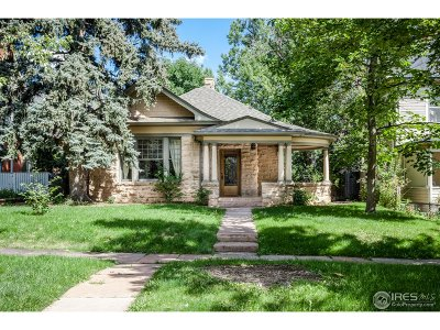 Boulder Single Family Home For Sale: 445 Highland Ave