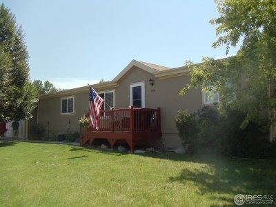 Longmont Single Family Home For Sale: 3296 Longview Blvd #286