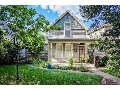 Boulder Single Family Home For Sale: 661 Concord Ave