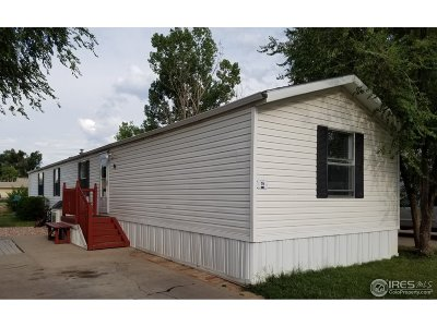 Greeley CO Single Family Home For Sale: $47,000