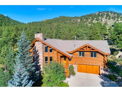 Lyons CO Single Family Home For Sale: $1,650,000
