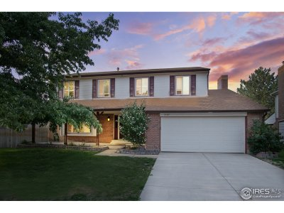 Broomfield Single Family Home For Sale: 3163 W 12th Ave Ct