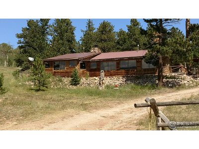 Red Feather Lakes Single Family Home For Sale: 24688 W County Road 74e