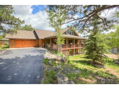 Estes Park CO Single Family Home For Sale: $865,000