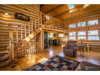 Estes Park Single Family Home For Sale: 1264 Range View Rd