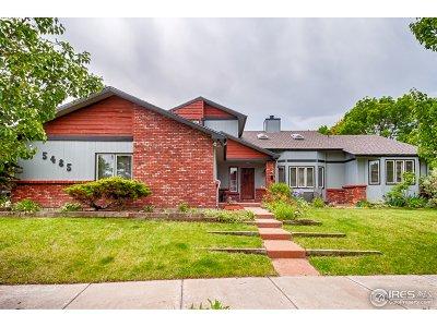 Boulder Single Family Home For Sale: 5485 Baca Cir