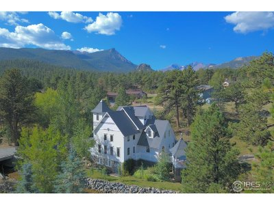 Estes Park Single Family Home For Sale: 2809 Fish Creek Rd