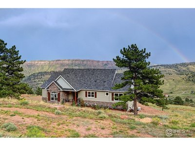 Lyons CO Single Family Home For Sale: $850,000