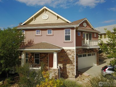 Boulder CO Single Family Home For Sale: $960,000