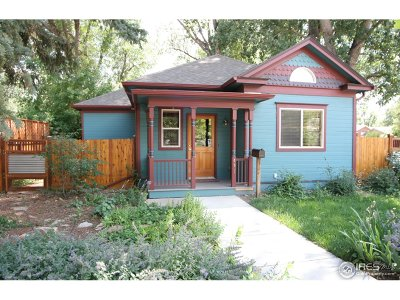 Fort Collins Single Family Home For Sale: 401 Edwards St