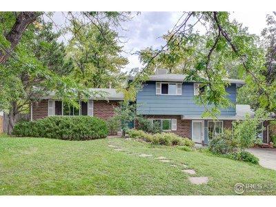 Boulder Single Family Home For Sale: 4690 Berkshire Pl