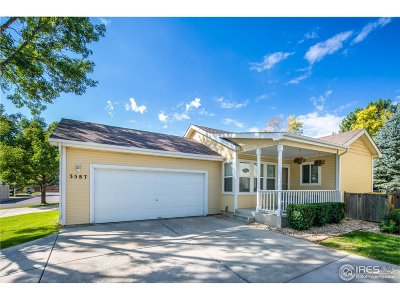 Fort Collins Single Family Home For Sale: 3587 Pike Cir