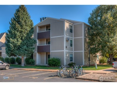 Fort Collins Condo/Townhouse For Sale: 3400 Stanford Rd #222