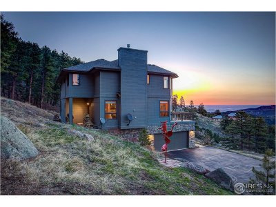 Boulder CO Single Family Home For Sale: $1,139,000