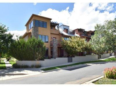 Boulder CO Condo/Townhouse For Sale: $980,000