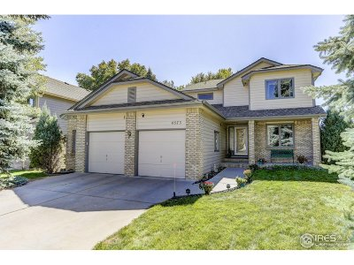 Fort Collins Single Family Home For Sale: 4573 Seaboard Ln