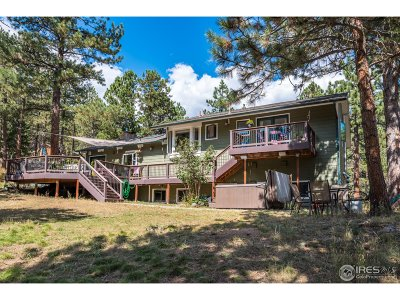 Boulder CO Single Family Home For Sale: $875,000