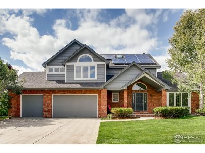 Fort Collins Single Family Home For Sale: 5419 Hilldale Ct