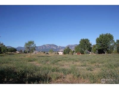 Boulder Residential Lots & Land Active-Backup: 280 Vaquero Dr