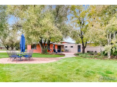 Boulder CO Single Family Home For Sale: $1,589,000