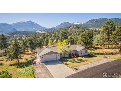 Estes Park Single Family Home Active-Backup: 1732 Dekker Cir