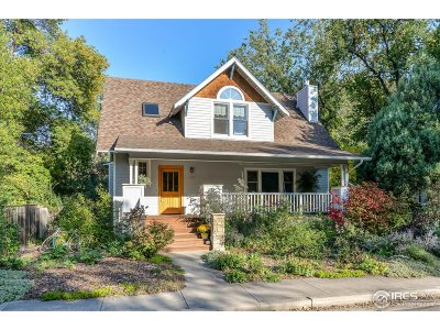 Fort Collins Single Family Home For Sale: 142 Grandview Ave