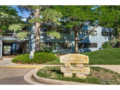 Boulder Condo/Townhouse For Sale: 1576 Bradley Dr #101