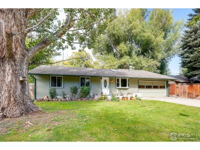 Niwot Single Family Home For Sale: 341 Franklin St
