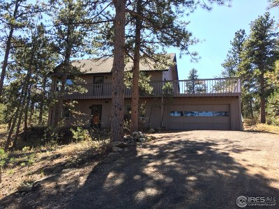 Estes Park Single Family Home For Sale: 2850 Wildwood Dr