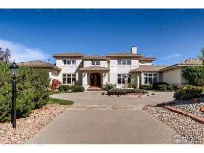 Niwot Single Family Home For Sale: 8277 Cattail Dr