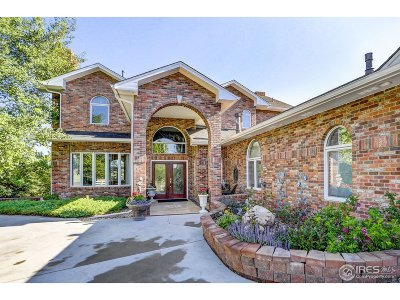 Fort Collins Single Family Home For Sale: 1612 Greenstone Trl